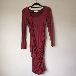 The Vanity Room Midi Length Stretchy Dress